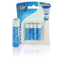 HQ piles AAA 1.5V alcalines
