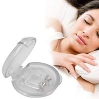 Alpexe Silicone Magnetic Protection Anti-ronflement Aide à Lutter Contre Le ronflement, apnée du Sommeil, dilatateur Nasal