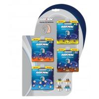 Rayovac présentoir de piles pour aides auditives