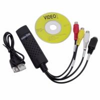 Alpexe Enregistreur Convertisseur de Vidéo / Audio USB 2.0 VHS - Adaptateur Vidéo pour La Numérisation des Vidéos Analogiques po
