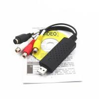 Alpexe Enregistreur Convertisseur De Vidéo / Audio - Boîtier D'acquisition/Carte De Capture Video VHS - Video Capture USB Pour M