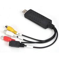 Alpexe Convertisseur / Enregistreur Audio et vidéo   Carte de Capture Vidéo USB 2.0   Botier d'acquisition   VHS - Adaptateur vi