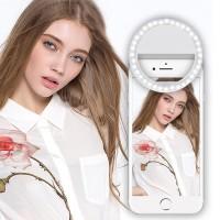 Alpexe Selfie Lumière, Anneau Lumière 36 LED Flash de Selfie ajustable avec plupart téléphone portable et tablette