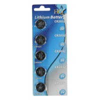 HQ piles lithium CR2032 3V