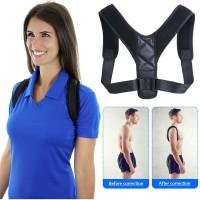 Alpexe Support Droit Correction de Posture pour Une Meilleure Posture et Soutien du Dos Taille L (Buste : 96-124 cm)