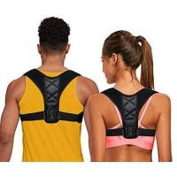 Alpexe Correcteur De Posture Dos Épaules -Lavable et Ajustable -Soulage Les Douleurs Dorsales, Thoraciques, Cou et Épaules Taill