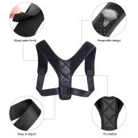 Alpexe Correcteur de Posture Soutien des épaules en Haut du Dos Physiothérapie réglable Taille L (Buste : 96-124 cm)
