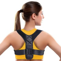 Alpexe Correcteur de Posture, soutien Dos, attelle de posture, orthopédique, redresseur dos, orthèse colonne vertébrale Taille L