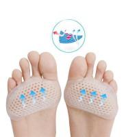 Alpexe 1 Paire Gel Coussinets pied, Support Plante des Pieds Séparateurs d'orteils