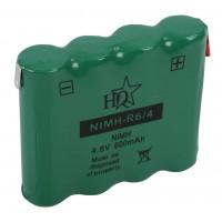 HQ Ni-MH 4x AA backup battery 4.8 V 600 mAh