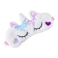 Alpexe Masque de Sommeil Licorne Animaux Design Kawaii Bandeau Yeux Nuit