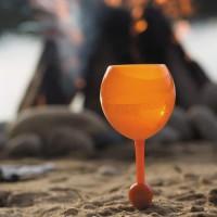 Alpexe Verre de plage flottant pour le camping de piscine de cocktail de bière de vin