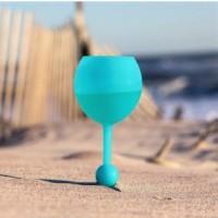 Alpexe Verre à vin conçu pour bords de mer