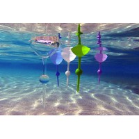 Alpexe Verre sans pied conçu pour la plage