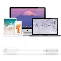Alpexe Adaptateur Jack, vers Prise Casque Audio de 3,5 mm pour iPhone XS, XS Max, XR, 8,8 Plus,7 iOS 12