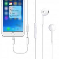 Alpexe Adaptateur Casque écouteurs 3,5 mm iPhone 7 7 Plus/8 8 Plus/X XS XR Prise Jack iOS 12