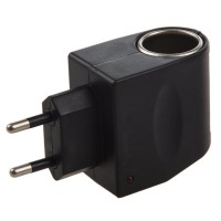 Alpexe Convertisseur de Tension 220 V Bloc d'alimentation de 12 V (1.0A) sur Allume-cigares
