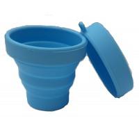 Alpexe Stérilisateur Pliable et Rangement pour TOUS Types de Coupe Cup Menstruelle - 100% Silicone Médical Antimicrobien