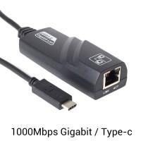 Alpexe Adaptateur USB C vers Ethernet RJ45 Gigabit Réseau à 1000 Mbps Compatible Thunderbolt 3 Nintendo Switch MacBook Dell XPS