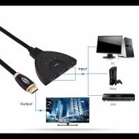 Alpexe Switch HDMI (3 Port HDMI Switch)