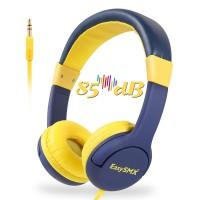 Alpexe Casque Audio Enfant avec Limiteur de Volume, pour Enfant 3-12 Ans (Bleu)