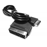Alpexe 1pc RGB péritel Câble USB pour Sony Playstation PS1 / PS2 / PS3 TV câble AV