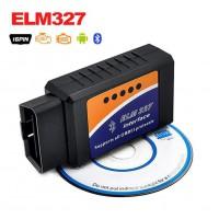 Alpexe ELM327 OBD2 v1.5 Interface Bluetooth OBDII OBD-2 Auto adaptateur Scanner diagnostic outil