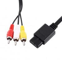 Alpexe Nintendo Câble AV Audio Vidéo AV pour Jeu Nintendo N64 Compatible