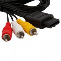 Alpexe Câble AV Audio Vidéo AV RCA câble Compatible avec câble de Jeu Nintendo N64