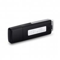 Alpexe Micro espion Stockage Clé USB Noire 8G