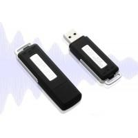 Alpexe Mini Enregistreur vocal 8 GB / 20 heures USB Audio Flash Drive USB 2 en 1