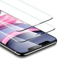 Alpexe Verre Trempé pour iPhone 11 / iPhone XR (2 Pièces), Film Protection Écran NOIR