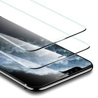 Alpexe Verre Trempé pour iPhone 11/iPhone XR 6.1, 2 Pièces 3D Couverture Complète Film Protection écran 9H Noir