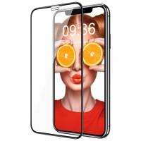 Alpexe Verre Trempé Noir pour iPhone 11/XR, Lot de 2, Protection Écran 3D Couverture Complète Anti-Traces de Doigts, Anti-Rayure