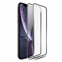 """Alpexe Verre Trempé pour iPhone 11 / iPhone XR (6.1""""), Pack de 2 Film Protection écran Noirs- Anti Rayures"""