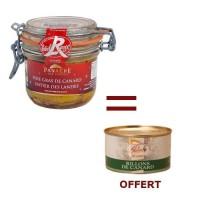 1 Foie Gras Entier 180g Acheté 1 Rillons OFFERT