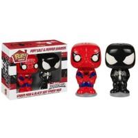 1 Poivrier & 1 Saliere Figurines Funko Pop! Marvel: Spider-Man, Venom