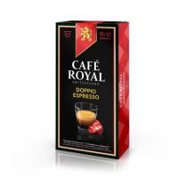 10 capsules Cafe Royal Doppio Espresso Capsules compatibles Systeme Nespresso