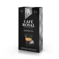 10 capsules Cafe Royal Ristretto Capsules compatibles Systeme Nespresso