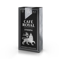 10 capsules Café Royal Single Origin Ethiopia Capsules compatibles Systeme Nespresso