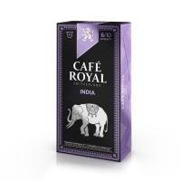 10 capsules Café Royal Single Origin India Capsules compatibles Systeme Nespresso