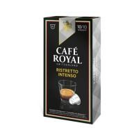 10 capsules de café Ristretto Intenso 100% Arabica CAFÉ ROYAL