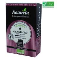10 capsules Naturella Biospresso Compatibles Nespresso Le Grand Cru n° 6 Bio