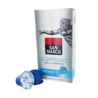 10 capsules SAN MARCO Déca Compatible Nespresso