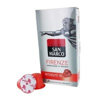 10 capsules SAN MARCO Firenze Compatible Nespresso