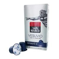 10 capsules SAN MARCO Vesuvio Compatible Nespresso
