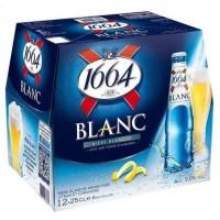 1664 - Blanc - Biere - 5.0% Vol. - 12 x 25 cl