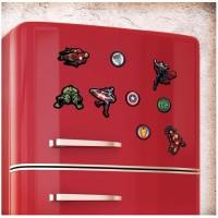 18 aimants Marvel: Avengers