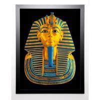 18TH DYNASTY Image encadrée Tutenkhamun 67x87 cm Multicolore