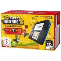 2DS Bleue + New Super Mario Bros 2